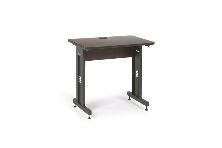 "36"" W x 24"" D Training Table - African Mahogany"