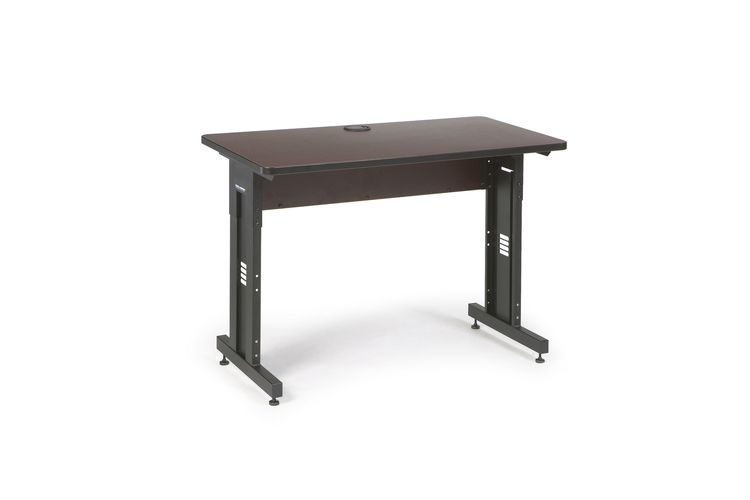 "48"" W x 24"" D Training Table - African Mahogany"