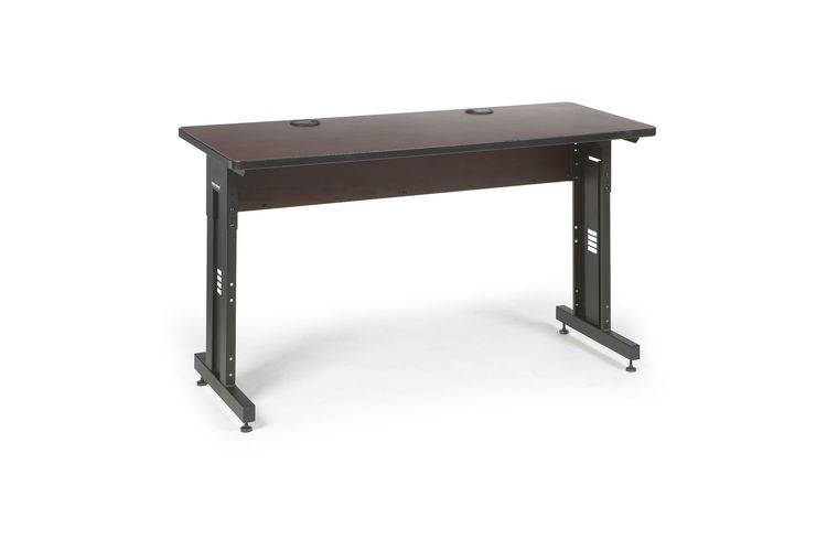 "60"" W x 24"" D Training Table - African Mahogany"