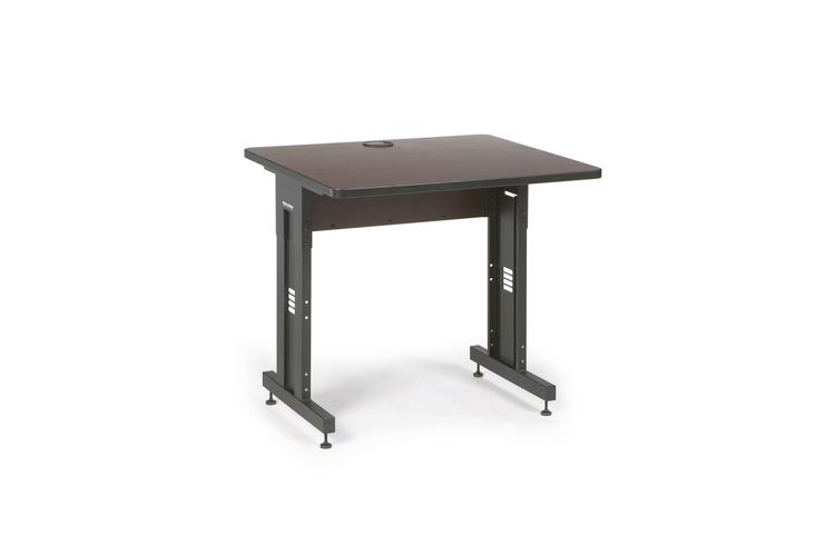 "36"" W x 30"" D Training Table - African Mahogany"