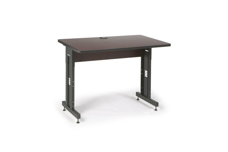 "48"" W x 30"" D Training Table - African Mahogany"