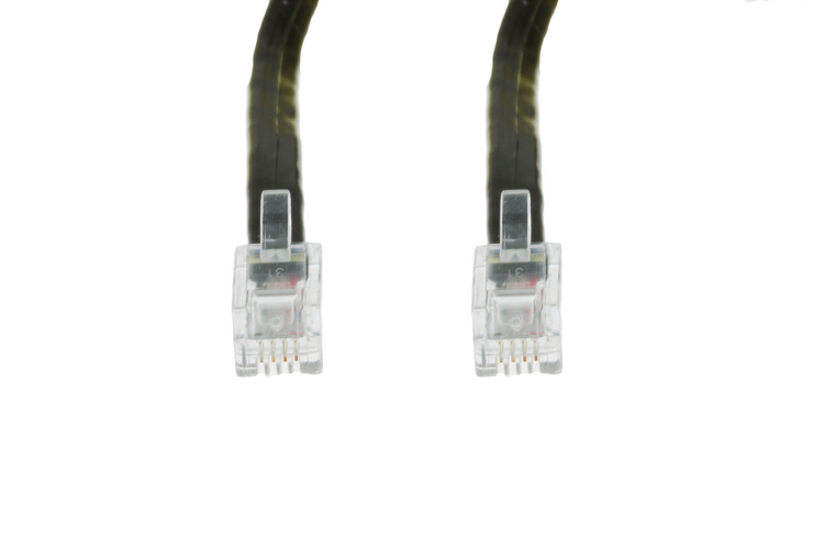 Cisco 6900//8900//9900 Series Compatible Handset Charcoal WITH CURLY CORD