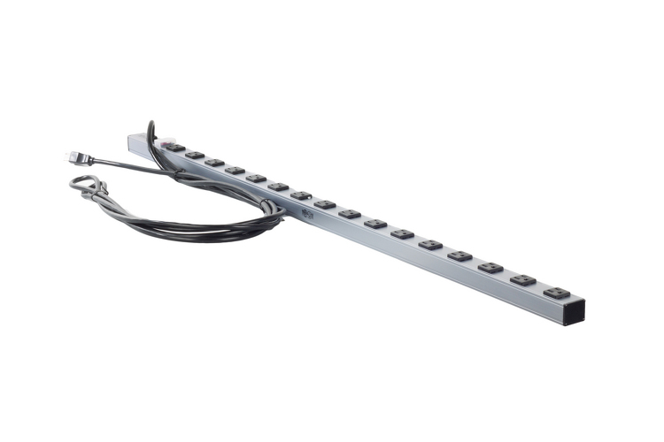 "Tripp Lite 48"" Rack Mount Power Strip With Sixteen 5-15R Outlets"