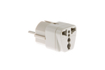 "European ""Schuko"" CEE 7/7 to Universal Power Plug Adapter"