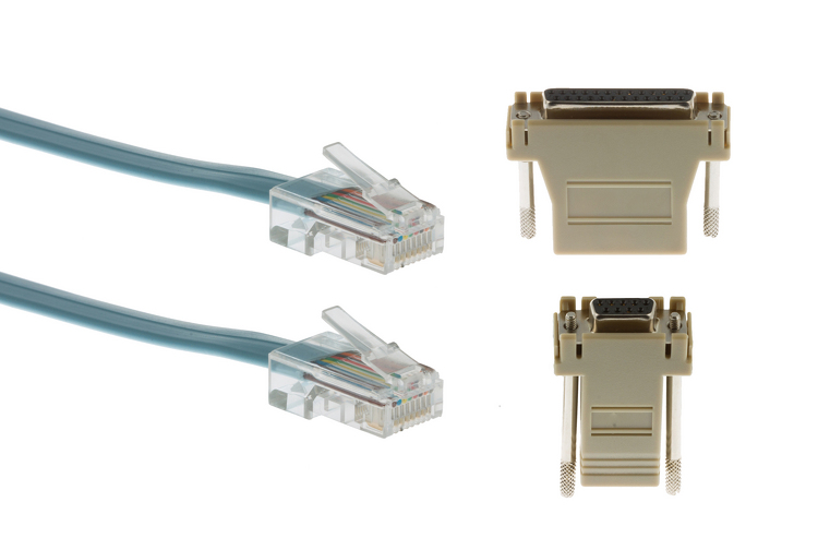 cisco console cable kit 3 pc acs 2500asyn free shipping rh cablesandkits com