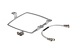 Cisco Aironet 1300 Series Wall Mount Kit, AIR-ACCWAMK1300, NEW