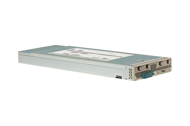 Cisco B200 M3 Server Blade with (2) Intel E5-2660v2, 384GB RAM, (2) 300GB 10K HDD