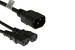 AC Power Cord, C14 to C13 (x2) Splitter Cable, 18 AWG, 10ft