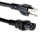 AC Power Cord, 5-15P to C15, 14 AWG, 10ft