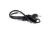 AC Power Cord, 5-15P to C13, 18 AWG, 2ft, Black