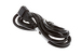 AC Power Cord, C13 to C14, 18 AWG, 7ft, Black