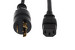 AC Power Cord, L6-20P to C13, 14 AWG, 6ft