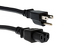 AC Power Cord, 5-15P to C15, 16 AWG, 10ft