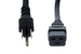 AC Power Cord, 5-15P to C19, 14 AWG, 3ft