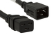 AC Power Cord, C19 to C20, 3 ft, Black
