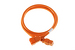 AC power cord, C20 to C19, 12 AWG, 6ft, Orange