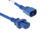AC Power Cord, C14 to C15, 14 AWG, 2ft, Blue