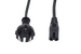"AC Power Cord, European Plug ""Schuko"" CEE 7/7 to C7, 2 Meters"