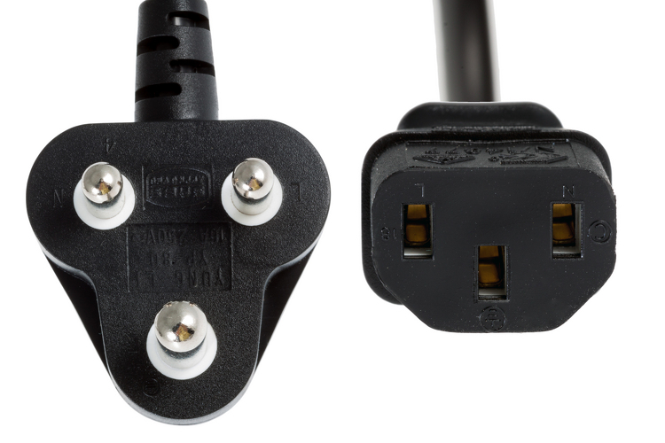 Ac Power Cord India South Africa Lifetime Warranty Ebay