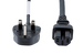 Cisco 3900 Series AC Power Cord (notched), UK, CAB-C15-ACU