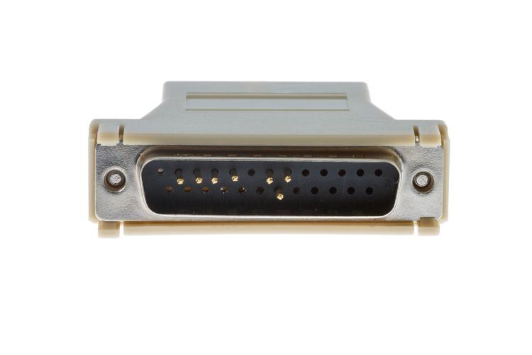 cab 5modcm cisco modem adapter db25 to rj45 ships fast. Black Bedroom Furniture Sets. Home Design Ideas