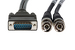 Cisco E1 BNC Cable, 75ohm/Unbalanced, CAB-E1-BNC, 3 Meters