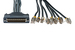 Cisco Compatible 8 Lead Octal Cable, 15ft, CAB-OCTAL-ASYNC-15