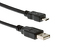 USB 2.0 Type A to Micro B male to male 8 in. cable