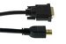 HDMI to DVI-D Cable w/ Gold Plated Connectors, 30'