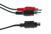 S-Video to 2 RCA-M Y Cable, 6', Black