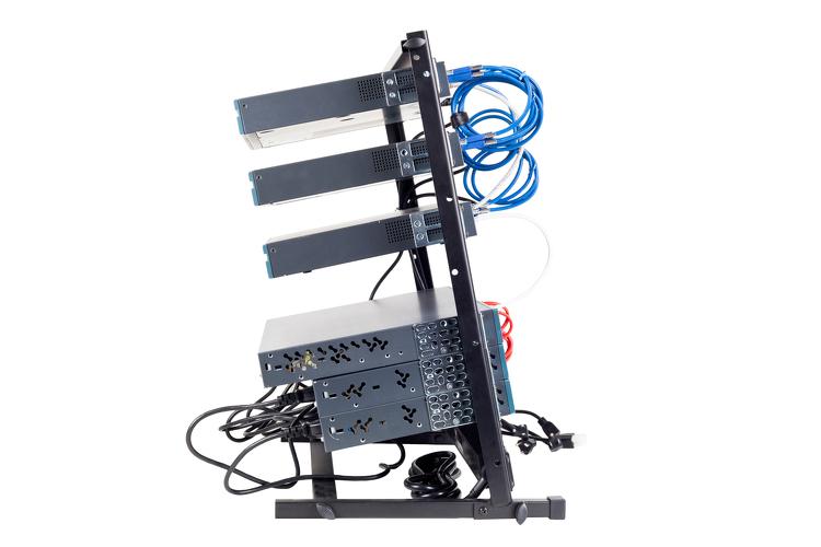 Premium Cisco CCENT CCNA Certified Network Associate Home Lab Kit w/ 12U  Rack