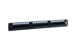 24 Port Cat5e LED Patch Panel