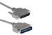 Centronics 36 Male to DB25 Male Printer Cable, 3'
