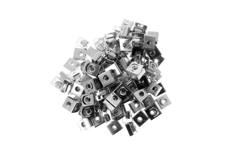 Rack Mount Slide On Clip Nuts 10 32 Qty 100 Lifetime