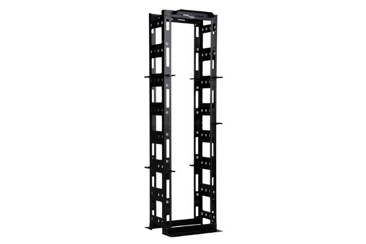 "Great Lakes 45U 19"" EIA Cable Management Rack"