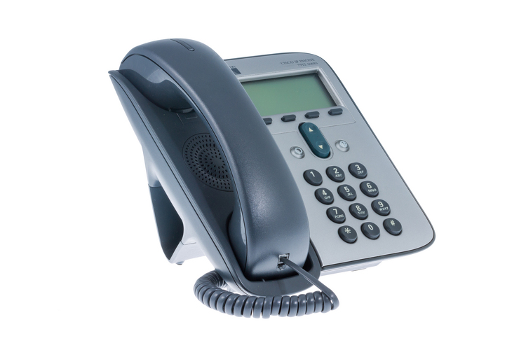 Cisco 7912G Two Line Unified IP Phone (SIP), CP-7912G
