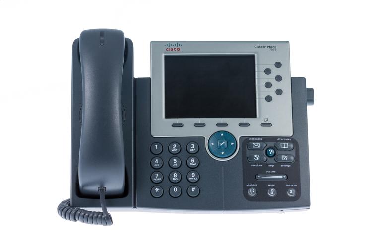 Cisco ip phone 7965 Operating manual