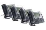 Cisco 7940G Two line Unified IP Phone SCCP, CP-7940G, Four Pack