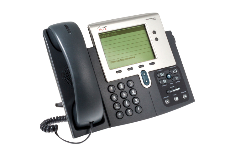 Cisco 7942G Two line Unified IP Phone, CP-7942G