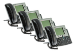 Cisco 7961G Six Line Unified VoIP Phone (SCCP), Four Pack