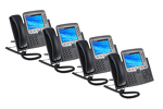 Cisco 7975G Eight Line Color Display Unified IP Phone, Four Pack