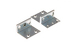 Cisco ASA5500 Rack Mount Kit, ASA5500-HW=