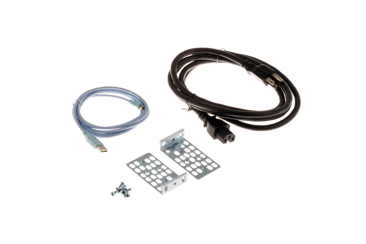 Cisco 1RU Accessory Kit (C3KX-RACK-KIT Kit, Console & AC Cord)