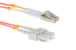 LC To SC Multimode SX Fiber Cable, 10 M, Cisco Compatible