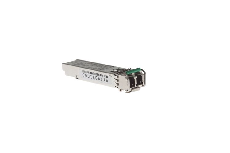Cisco CWDM SFP Transceiver, 1530-nm, Gigabit Ethernet, 1 and 2-GB Fibre Channel, CWDM-SFP-1530