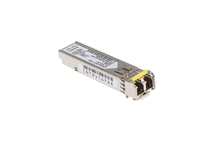 Cisco CWDM SFP Transceiver, 1550-nm, Gigabit Ethernet, 1 and 2-GB Fibre Channel, CWDM-SFP-1550