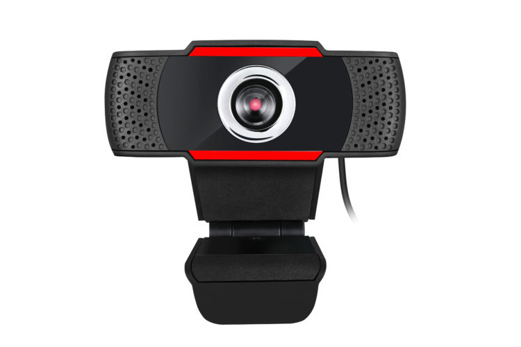 Adesso 720p HD USB Webcam with Built-in Microphone, CYBERTRACK H3