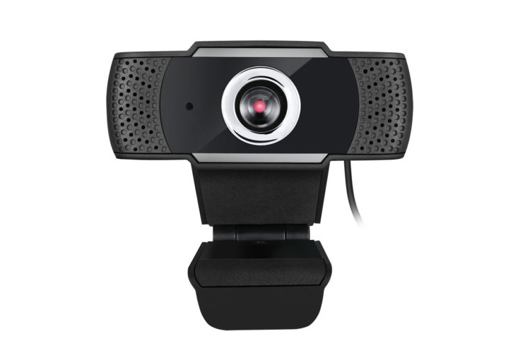 Adesso 1080p HD USB Webcam with Built-in Microphone, CYBERTRACK H4