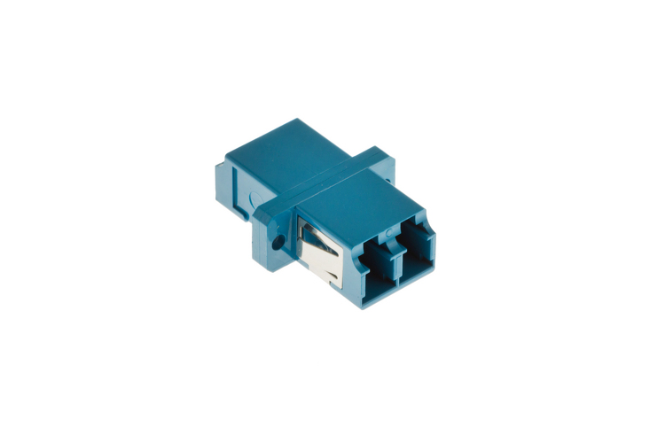 LC to LC Singlemode Duplex Fiber Optic Adapter