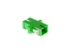 SC/APC-SC/APC Singlemode Simplex Fiber Optic Cable Adapter